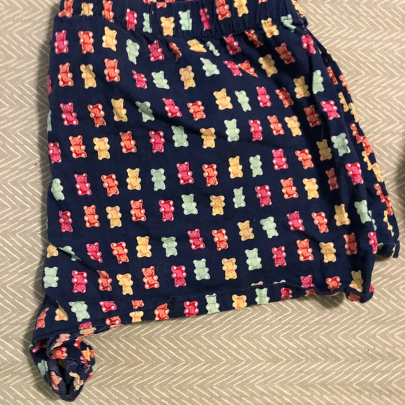 9fb88234fd Gummy Bear Print Boxer Sleep Shorts. M 5b056f5b3afbbde24d8a7d66